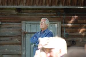 Kirjanik Jaan Kaplinski Võtikveres 2008. Foto Marko Martinson